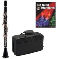 Big Band Clarinet Pack - Includes Clarinet w/Case & Accessories & Big Band Play Along Book