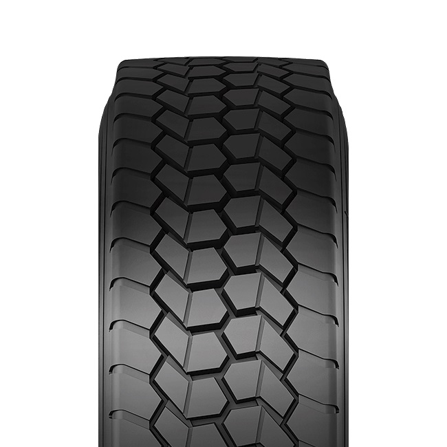 Double Coin RLB490 Low Profile Drive-Position Multi-Use Commercial Radial Truck Tire 245//70R19.5 16 ply