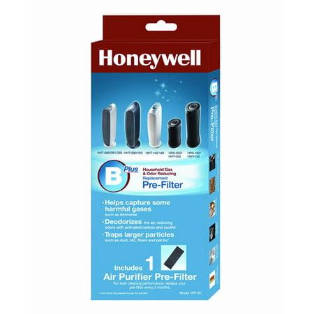Honeywell Premium Household Gas & Odor Reducing Pre-Filter B, 1