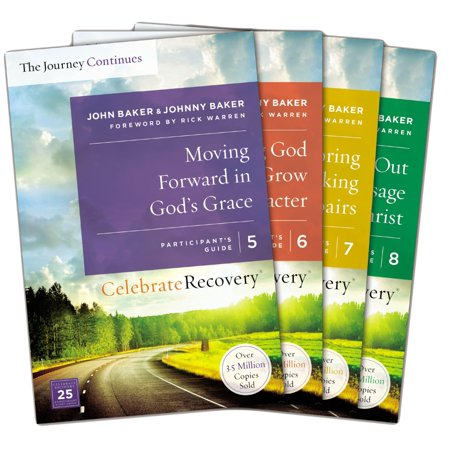 Celebrate Recovery: The Journey Continues Participant's Guide Set Volumes 5-8 : A Recovery Program Based on Eight Principles from the (Inuyasha Journey To Seek The Jade Guide)