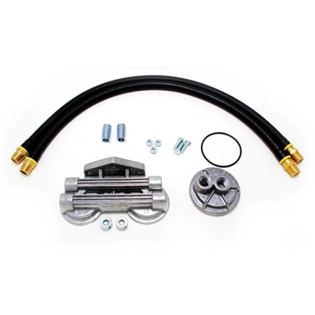 Trans-Dapt Performance 1213  Oil Filter Relocation Kit - image 1 of 2