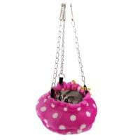 AkoaDa Parrot Hamster Squirrel Nest Hammock Cotton Nest Honey Bag Hanging Sleeping Bag