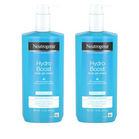 Neutrogena Hydro Boost Body Gel Cream, Fragrance-Free, 16 oz