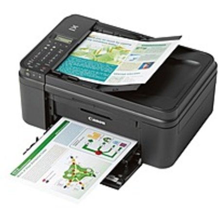 Refurbished Canon PIXMA MX492 Inkjet Multifunction Printer - Color - Photo Print - Desktop - Copier/Fax/Printer/Scanner - 8.8 ipm Mono/4.4 ipm Color Print (ISO) - 70 Second Photo - 4800 x 1200 dpi