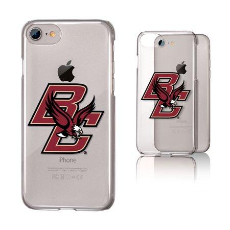 BC Boston College Eagles Insignia Clear Case for iPhone 8 / 7 / 6 (Bc Rich Eagle)
