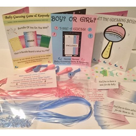 ULTIMATE Gender Reveal Party Kit-50 - Gender Reveal Party City