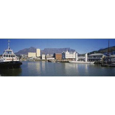 Harbor Town Golf - Boats Docked At A Harbor Cape Town South Africa Canvas Art - Panoramic Images (18 x 6)