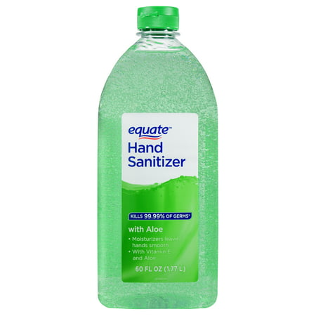 Equate Hand Sanitizer with Aloe & Vitamin E, 60 fl oz