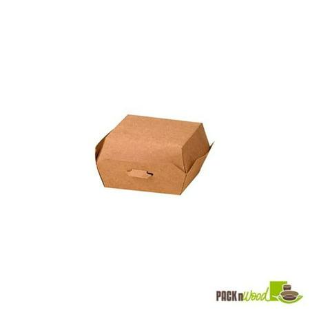 Packnwood 210eatbuk90 35 In Kraft Mini Burger Box Walmart Canada