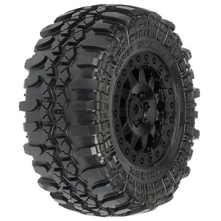 TSLSX Super Swamper SC 2.2/3 Mnt F11 Whl, Blk Multi-Colored 15 Super Swamper Bogger Tire