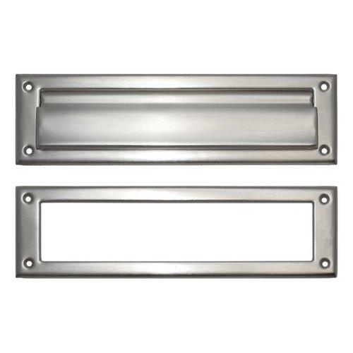 Brass Accents  A07-M0030  Letter  Mail Slot  Mail Slot  ;Satin Nickel