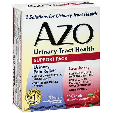 AZO urinaires Support Pack santé 32 ch (Pack de 4)