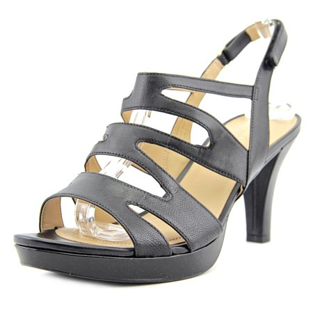1654c00ee93b Naturalizer - Naturalizer Pressley Women Open Toe Leather Sandals -  Walmart.com