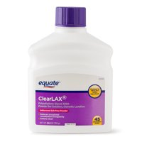 Equate Polyethylene Glycol 3350 Powder for Solution, Osmotic Laxative, 45 Doses