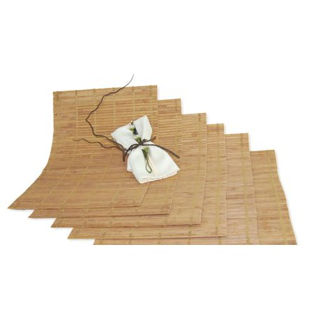 Bamboo Placemat (Versailles Home Fashions Bamboo Placemat (Set of)