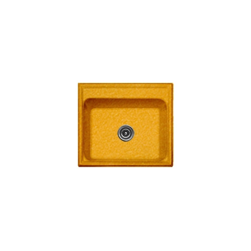 CorStone Advantage Series 25'' x 22'' Shannock Single Bowl Self Rimming Kitchen Sink