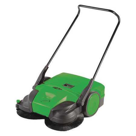 Bissell Commercial Bg697 Triple Brush Push Power Sweeper 38 In  G3775768
