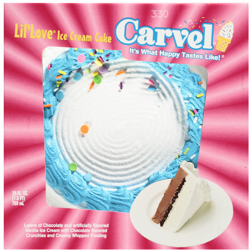 Carvel Lil' Love Ice Cream Cake, 26 oz