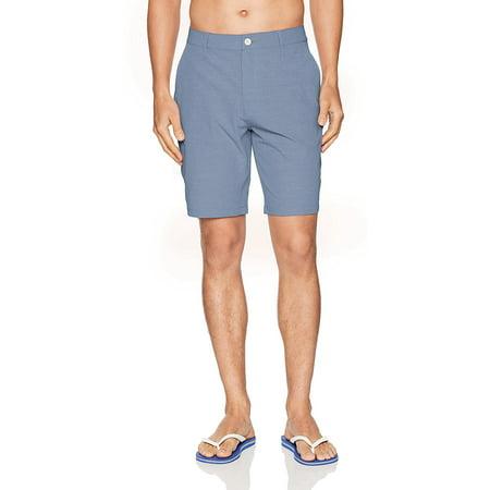 RVCA Men's Balance Hybrid Short, Bright Blue, 29 - image 1 of 1