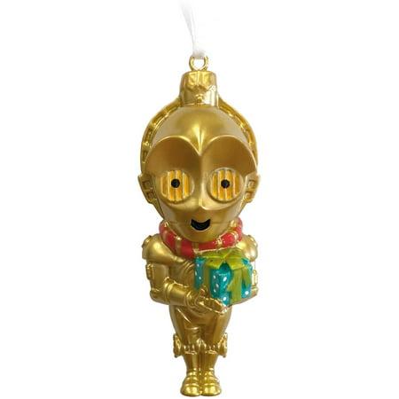 Hallmark star wars c3p0 resin ornament for Star hallmark on jewelry