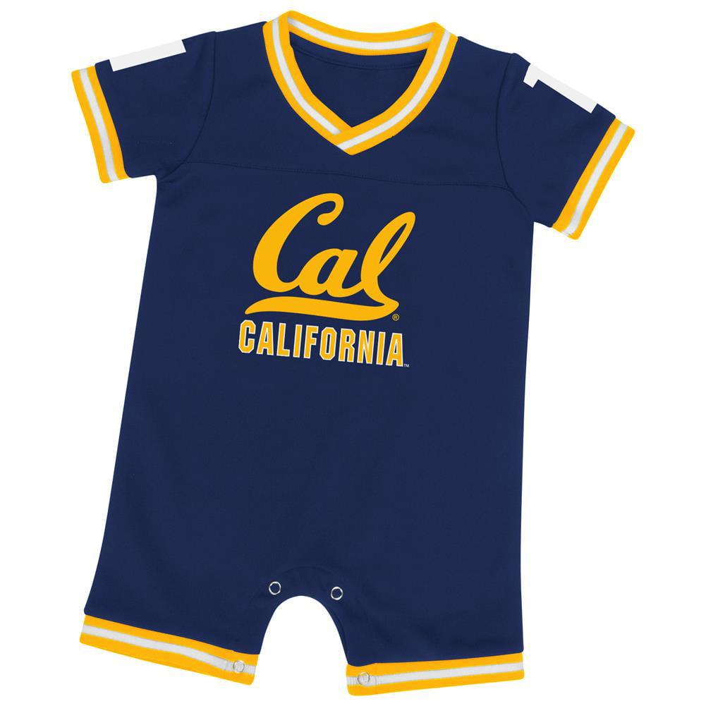 Cal Berkeley Golden Bears Infant Romper Baby Boy Jersey Onepiece