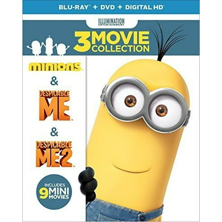 Despicable Me 3 Movie Collection  Blu Ray   Dvd   Digital Copy