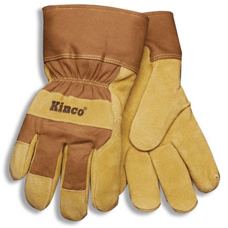 - Kinco 1958-XXL Thermal Lined Pigskin Palm Gloves, XX-Large, Brown