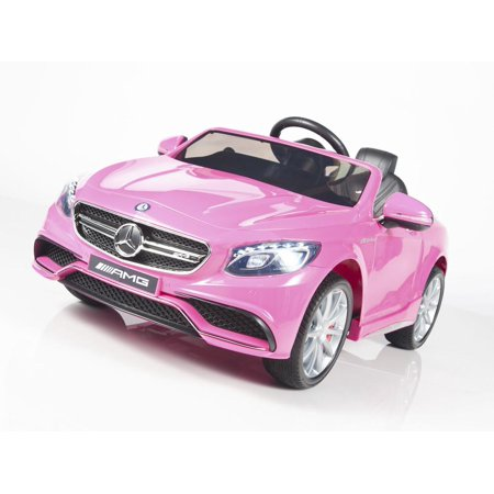 Limited Licensed Mercedes Benz S63 AMG Kids Ride On Car With (2008 Mercedes Cls 63 Amg For Sale)