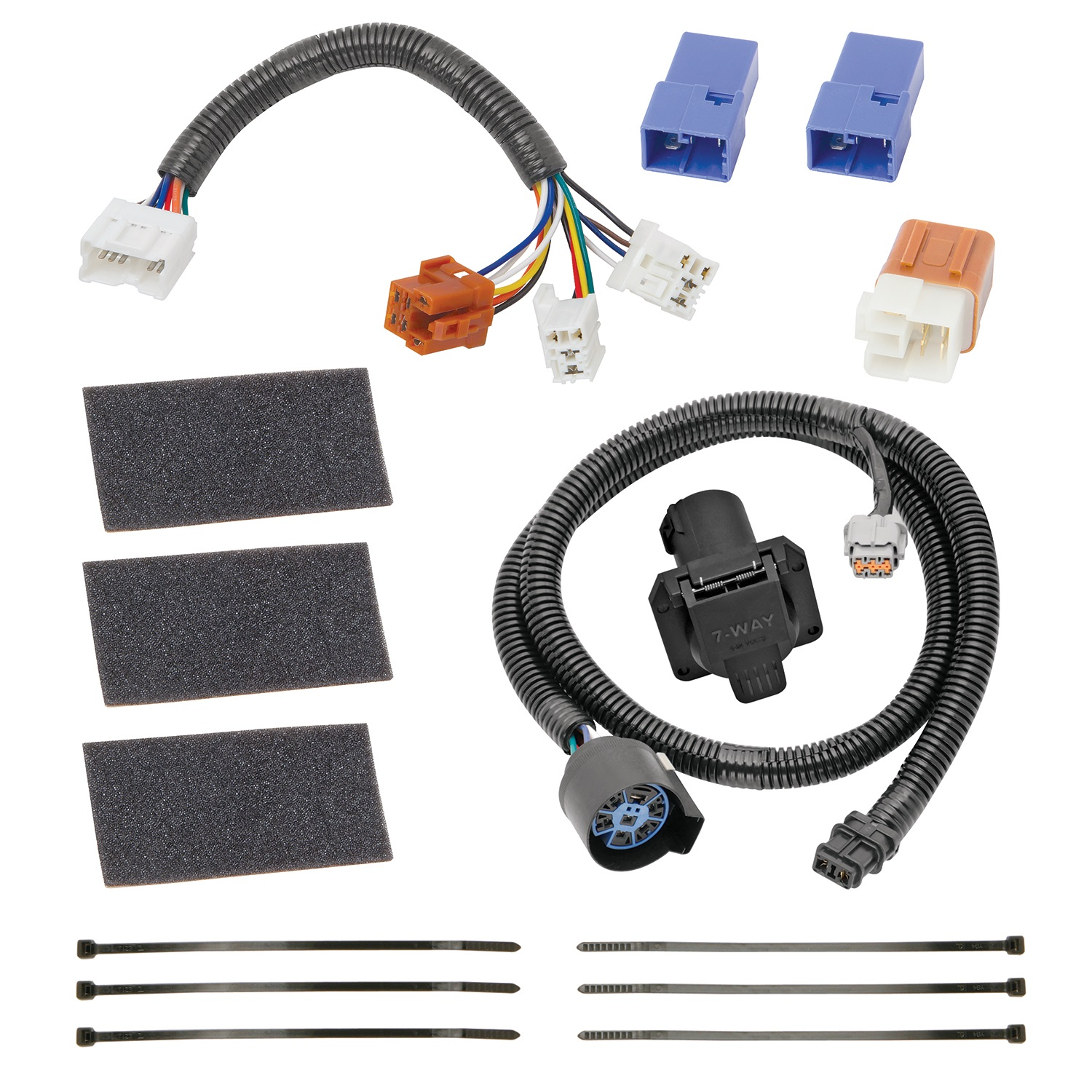 Auto Wiring Harness Replacement Electrical Diagrams 1988 Jeep Wrangler Install Feelin 39 Burned Jp 05 12 Frontier Pathfinder Xterra 09 Equator 7way Tow Package 150 Tune