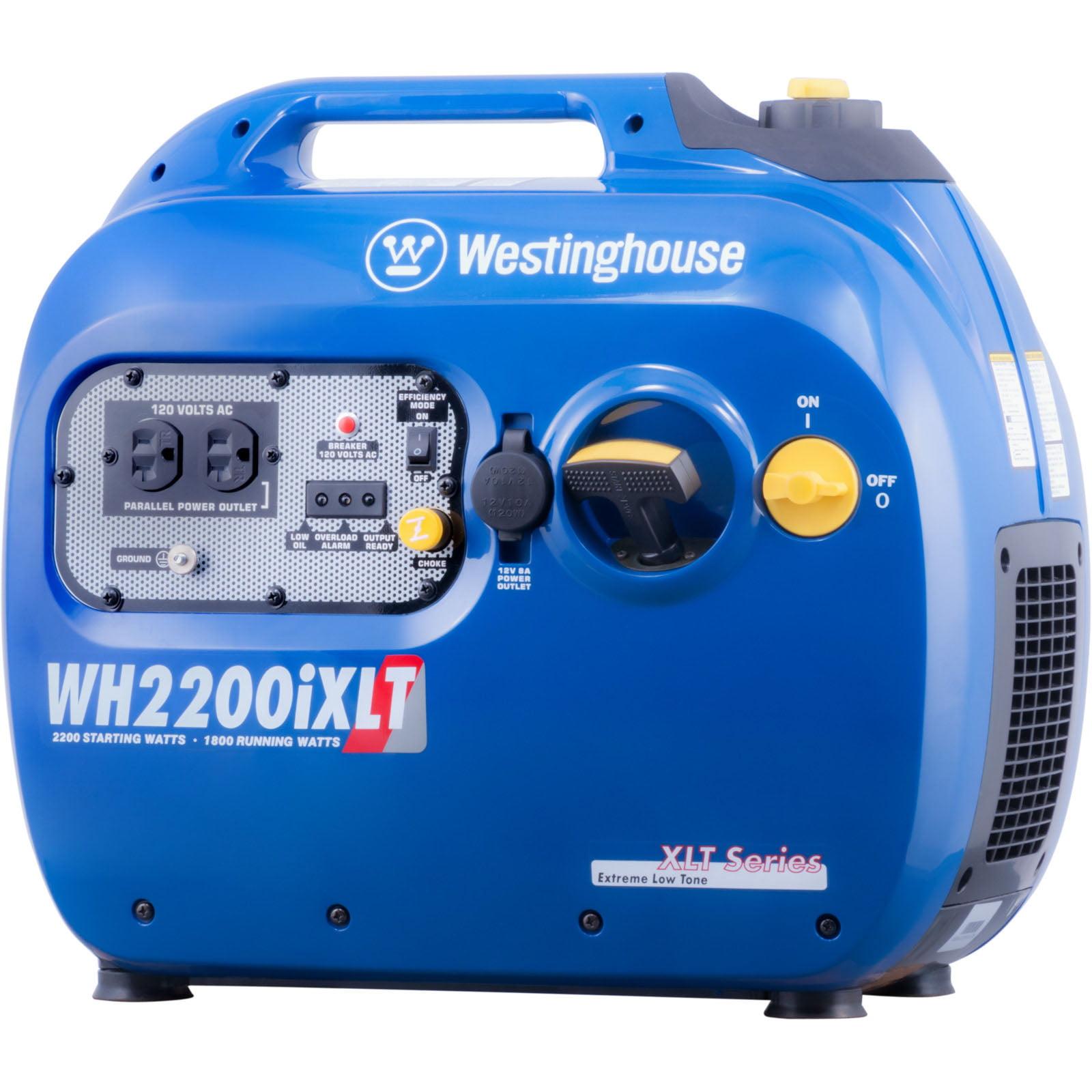 2200 Watt Peak 1800 Watt Running Gasoline Powered Digital Inverter Generator with Parallel Capabilities