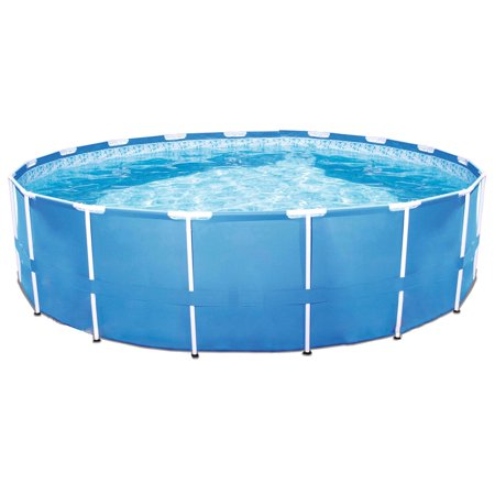 Bestway Steel Pro 12 x 30 Inch Frame Above Ground Swimming Pool with Filter (Best Way To Store Spaghetti)