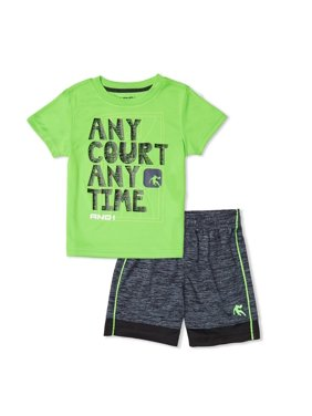 84a3b2a66 Product Image Toddler Boy Graphic T-shirt   Jersey Shorts