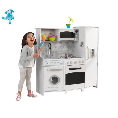 Large Play Kitchen: KidKraft Large Play Kitchen Set