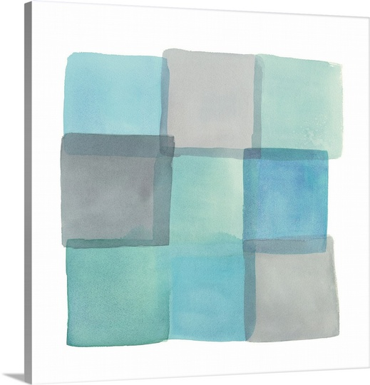 Great BIG Canvas | Mike Schick Premium Thick-Wrap Canvas entitled Overlap II