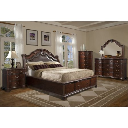 Picket House Furnishings Tomlyn 5 Piece King Storage Bedroom Set