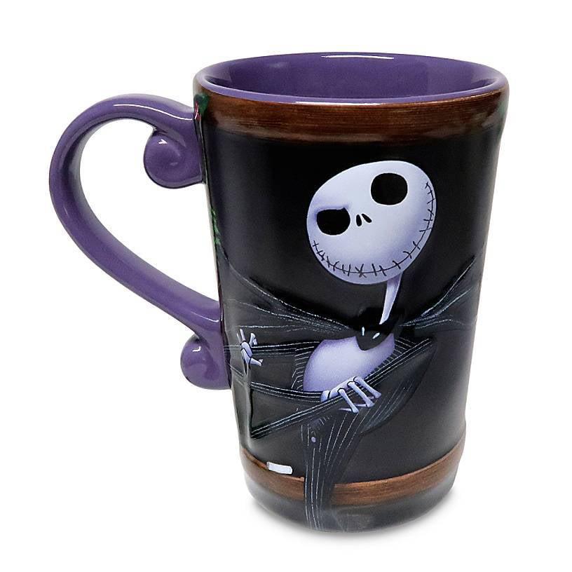 Nightmare Before Christmas Color Change Mug Black
