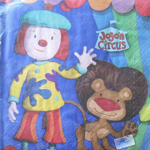 JoJo's Circus Lunch Napkins (16ct)