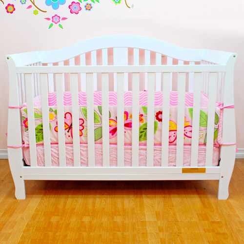 Athena Desiree 4-in-1 Fixed-Side Convertible Crib