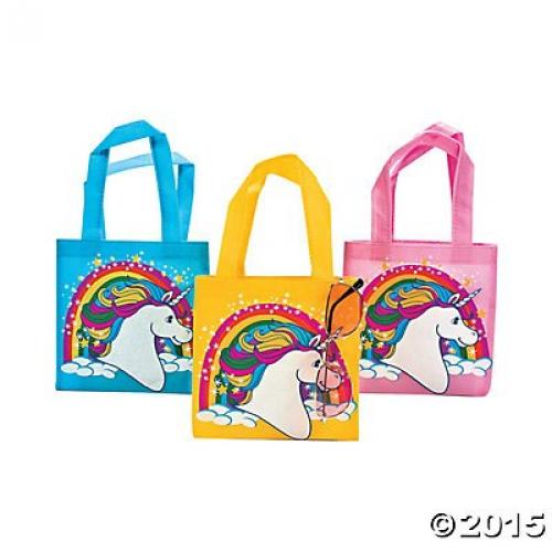 12 Unicorn Tote Bags- Small Size