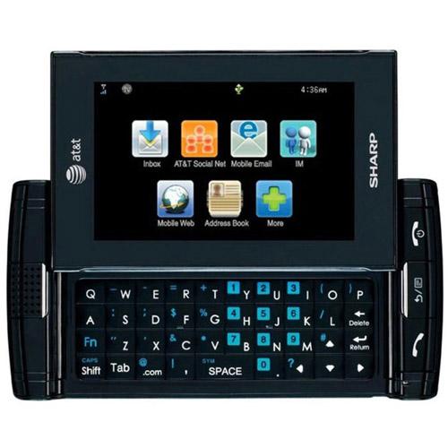 Sharp FX STX-2 GSM Cell Phone, Black (Unlocked)