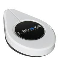 NRG Innovations RDC-100WT Aluminum Radiator Cap Lid Protection Cover (White)