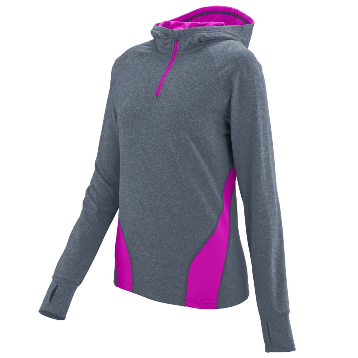 Augusta Ladies Freedom Pullover Gthth/Pp Xs - image 1 de 1