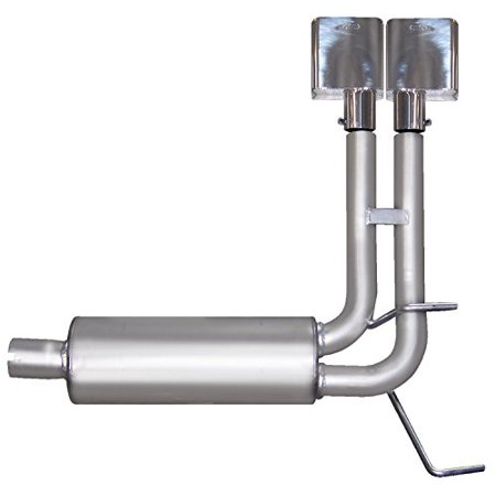 Gibson Exhaust 66541 GIB66541 06-08 RAM 2500/3500 POWER WAGON QUAD CAB SHORT BED 5.7L 4WD DUAL SUPER TRUCK EXHAUST SYSTEM ()