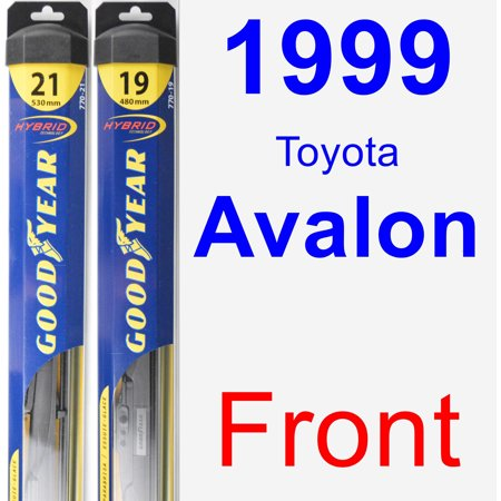 1999 Toyota Avalon Wiper Blade Set/Kit (Front) (2 Blades) - Hybrid