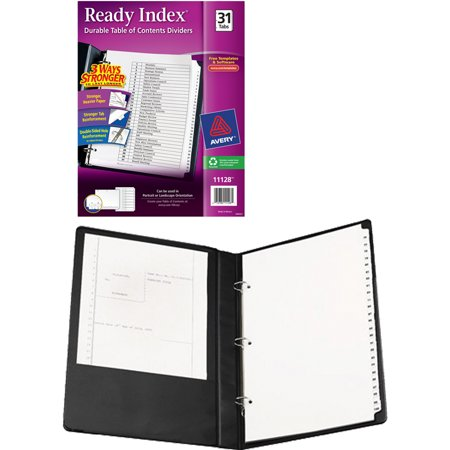Index Rings - Avery Legal Durable Binder with 1