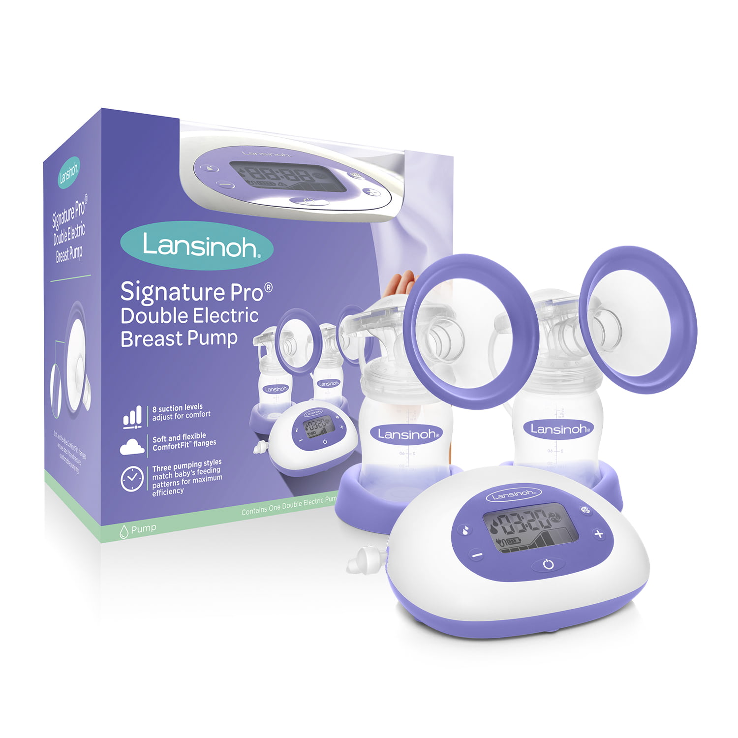 Lansinoh Signature Pro Portable Double Electric Breast Pump With