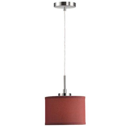 Woodbridge Lighting Ceiling Cluster 1-Light Mini Drum Pendant