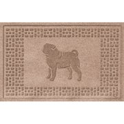 Bungalow Flooring Aqua Shield Pug Doormat