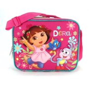 Lunch Bag - Dora the Explorer - w/Boots Flower Licensed 621339