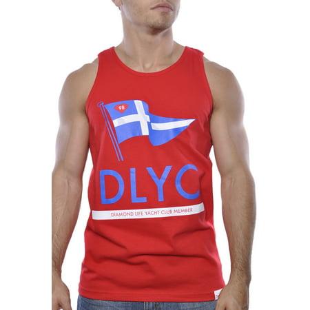 6651ffb6979a6 Diamond Supply Co DLYC Tank Top Shirt Red Mens - Walmart.com